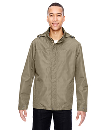 North End Men's Transcon Lightweight Jacket  Pattern