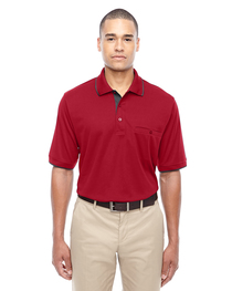 Core 365 Men's Motive Piqué Polo  Tipped Collar