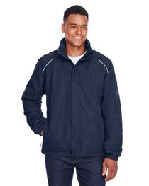 Core 365 Men's Tall Profile Fleece-Lined All-Season Jacket