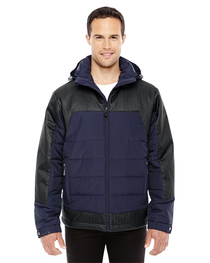 North End Men's Meridian Insulated Jacket  Print