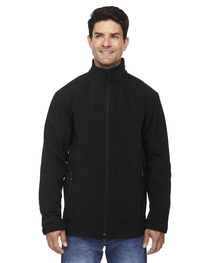 North End Men's Three-Layer Light Bonded Soft Shell Jacket