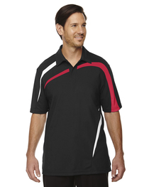 North End Men's Impact Polyester Piqué Polo