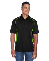 North End Men's Serac UTK cool logik™ Zippered Polo