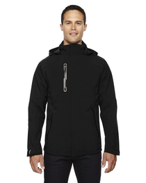 North End Men's Axis Soft Shell Jacket  Graphic Accents