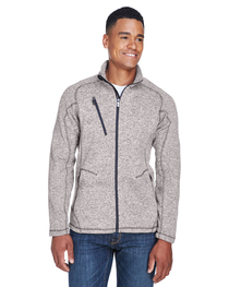 North End Men's Peak Sweater Fleece Jacket