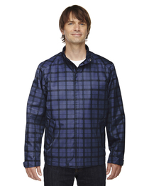 North End Men's Locale Lightweight City Plaid Jacket