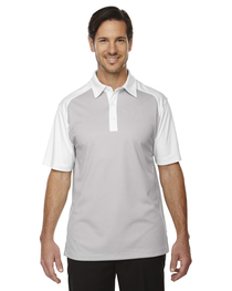 North End Men's Symmetry UTK cool logik™ Coffee Polo
