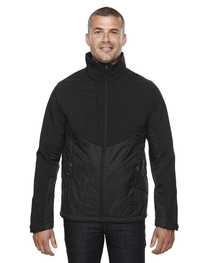 North End Men's Innovate Insulated Hybrid Soft Shell Jacket