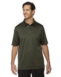 North End Men's Exhilarate Polo  Back Pocket
