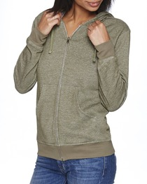 Next Level Adult Denim Fleece Full-Zip Hoody