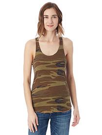 Alternative Ladies' Meegs Printed Racerback Eco-Jersey™ Tank