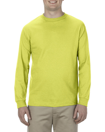 Alstyle Adult 6.0 oz.,  Cotton Long-Sleeve T-Shirt