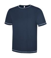 ATC™ Eurospun® Contrast Stitch Short Sleeve Tee