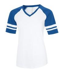 ATC™ Eurospun® Ring Spun Baseball Ladies' Tee
