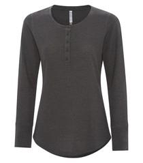 ATC™  Esactive® Vintage Thermal Long Sleeve Ladies' Henley
