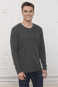 ATC™  Esactive® Vintage Thermal Long Sleeve Henley