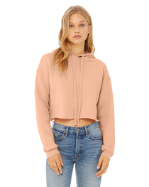 Bella Ladies' Cropped Fleece Hoodie