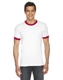 American Apparel UNISEX Short-Sleeve Ringer T-Shirt
