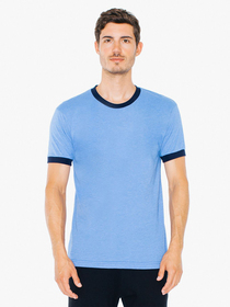 American Apparel UNISEX Short-Sleeve Ringer T-Shirt