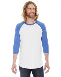 American Apparel Unisex 3/4-Sleeve Raglan T-Shirt