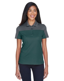 Core 365 Ladies' Balance Colorblock Performance Piqué Polo