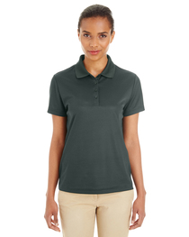 Core 365 Ladies' Express Microstripe Performance Piqué Polo