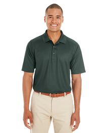 Core 365 Men's Express Microstripe Performance Piqué Polo