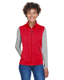 Core 365 Ladies' Cruise Two-Layer Soft Shell Vest