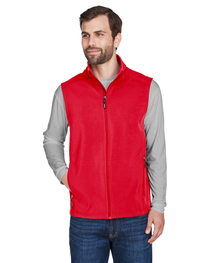 Core 365 Men's Cruise Two-Layer Soft Shell Vest