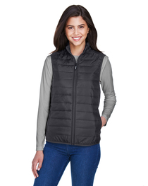 Core 365 Ladies' Prevail Packable Puffer Vest