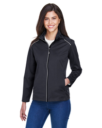 Core 365 Ladies' Techno Lite Three-Layer Knit Tech-Shell