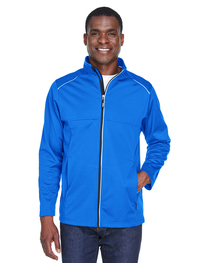 Core 365 Men's Techno Lite Three-Layer Knit Tech-Shell