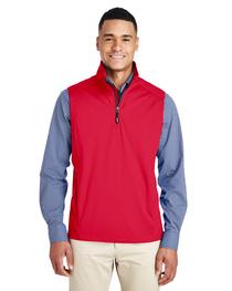 Core 365 Men's Techno Tech-Shell Quarter-Zip Vest