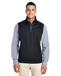 Core 365 Men's Techno Tech-Shell Quarter-Zip Vest