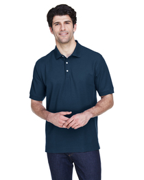 Devon & Jones Men's Tall Pima Piqué Short-Sleeve Polo