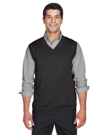 Devon & Jones Adult V-Neck Vest