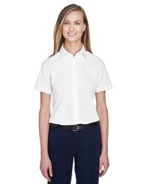 Devon & Jones Ladies' Crown Woven Collection™ Short-Sleeve S