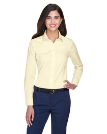 Devon & Jones Ladies' Crown Woven Collection™ Solid Oxford