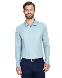 Devon & Jones Men's DRYTEC20™ Performance Long-Sleeve Polo