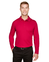 Devon & Jones Men's CrownLuxPerformance™ Plaited Long-Sleeve