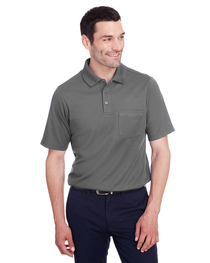 Devon & Jones Men's CrownLux Performance™ Plaited Polo  Pock