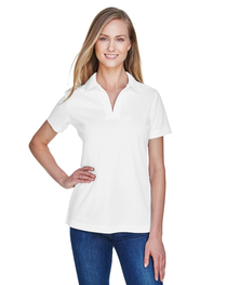 Devon & Jones CrownLux Performance™ Ladies' Plaited Polo