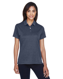 Devon & Jones Ladies' Pima-Tech™ Jet Piqué Heather Polo