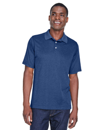 Devon & Jones Men's Pima-Tech™ Jet Piqué Heather Polo