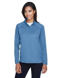 Devon & Jones Ladies' Stretch Tech-Shell® Quarter-Zip