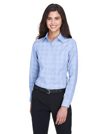 Devon & Jones Ladies' Crown Woven Collection™ Glen Plaid