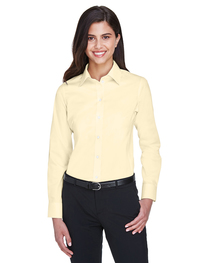 Devon & Jones Ladies' Crown Woven Collection™ Stretch Twill