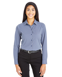 Devon & Jones CrownLux Performance™ Ladies' Check Shirt
