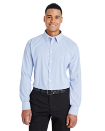 Devon & Jones CrownLux Performance™ Men's Windowpane Shirt