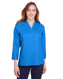 Devon & Jones Ladies' Crown  Collection™ Stretch 3/4 Sleeve